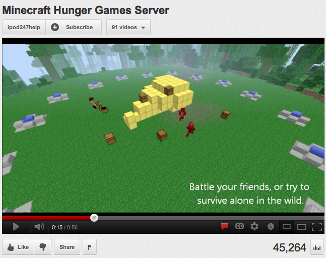 hunger games minecraft server